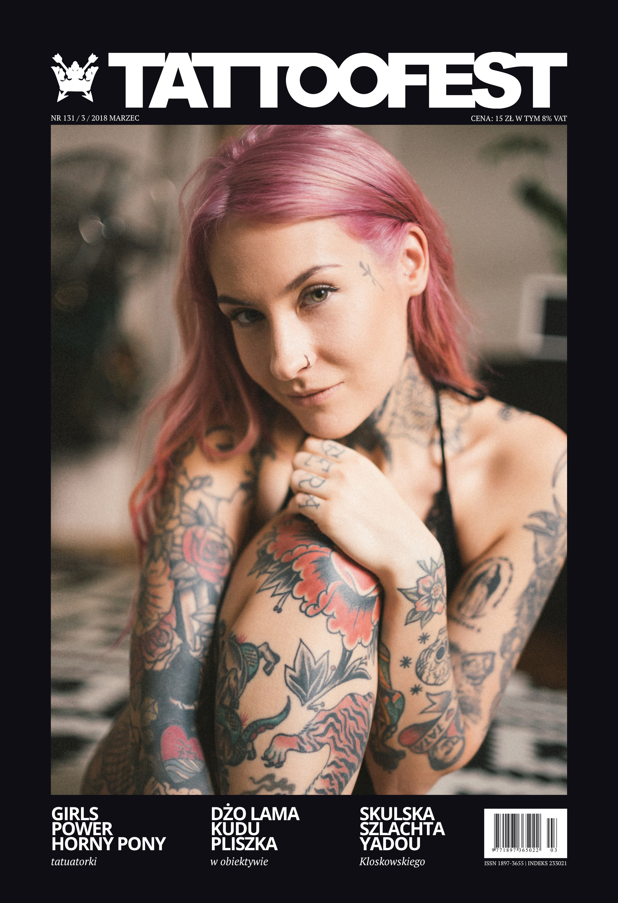 TattooFest Magazine - Marzec 2018