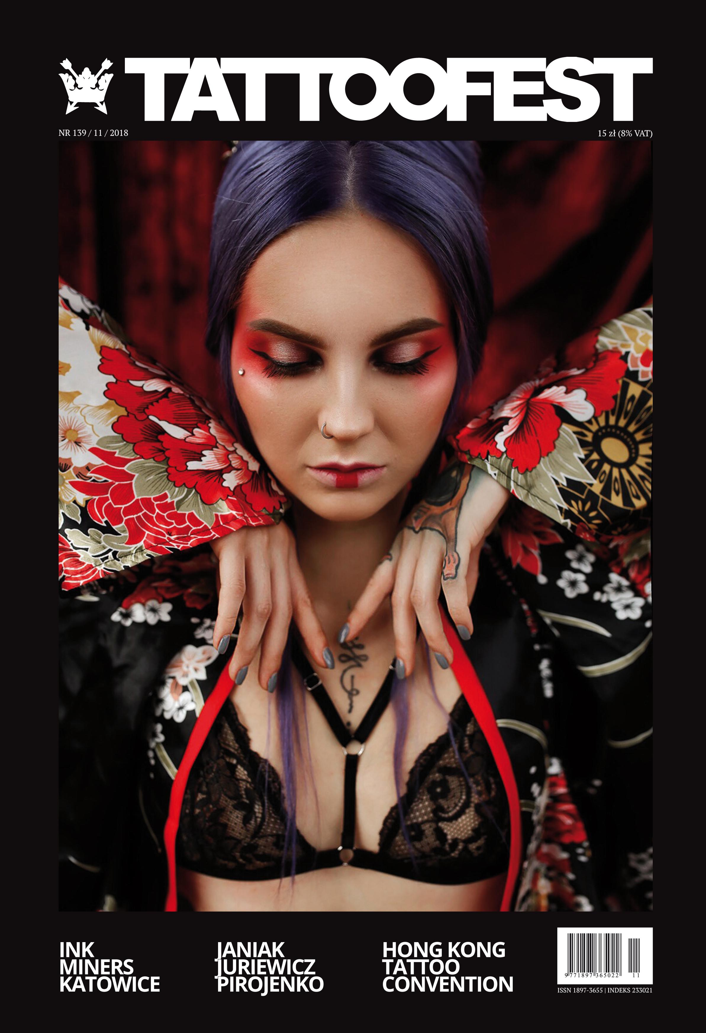 TattooFest Magazine - Lipiec 2018